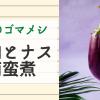 7月のお寺接待料理【ゴマメシ】鶏肉となすの南蛮煮